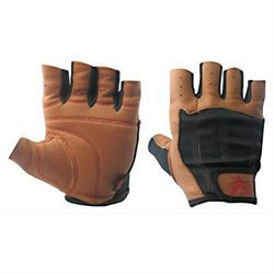 Muscle And Fitness Valeo Ocelot Glove Tan & Blk