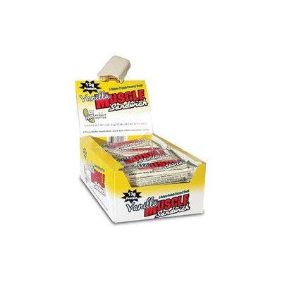 Costa COSTSAND0012VANIBR Muscle Sandwich Bar Vanilla 12 ct