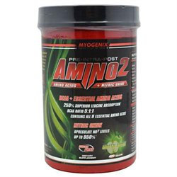 Myogenix - Amino2 Green Apple - 420 Grams CLEARANCE PRICED