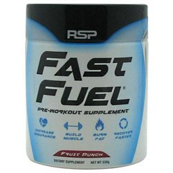 Rsp Nutrition Fast Fuel 30 Servings Fruit Punch Sport Performance