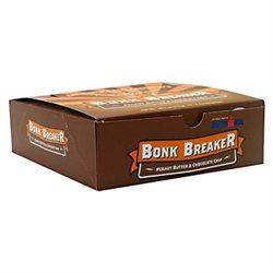 Bonk Breaker Energy Bars Peanut Butter and Chocolate Chip - 12 Bars