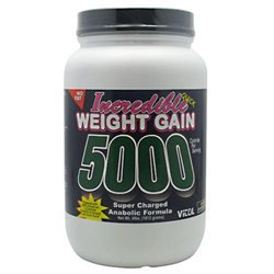 Vitol Products Incred Wght Gain 5000 Choc 5000 - 4 Pound Powder - Sports Supplements