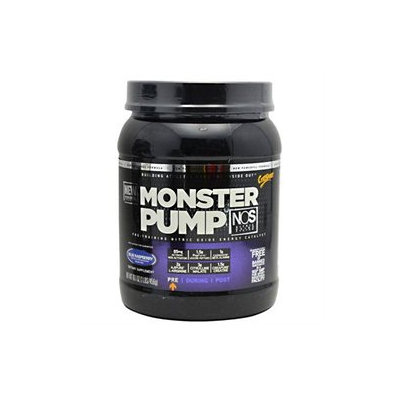 CytoSport Monster Pump NOS - Blue Raspberry - 16.1 oz