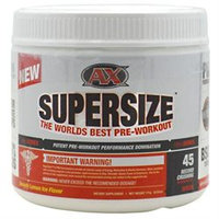 AthleticXtreme ANXTSUPE45SVLEMOPW SuperSize Lemon Ice 45 srv 171 g
