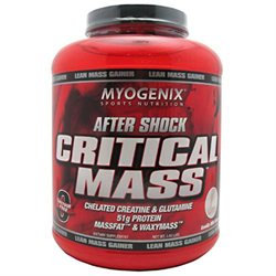 Myogenix - After Shock Critical Mass Vanilla Milk Shake - 5.62 lbs.