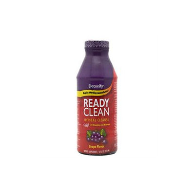 Detoxify Brand Ready Clean Herbal Cleanse - Grape