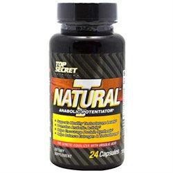 Top Secret Nutrition 4460363 Natural T 24 Capsules