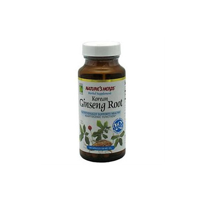Twinlab Korean White Ginseng Root by Nature's Herbs - 50 Capsules