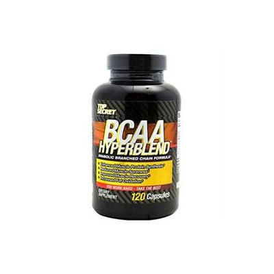 Top Secret Nutrition BCAA Hyperblend - 120 Capsules