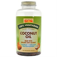 Health From The Sun 100% Vegetarian Coconut Oil