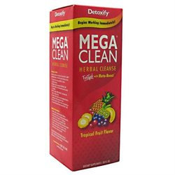 Detoxify Brand Mega Clean Herbal Cleanse - Tropical Fruit