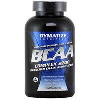 Dymatize Enterprises Inc. Dymatize Nutrition BCAA Complex 2200, 400 Caplets