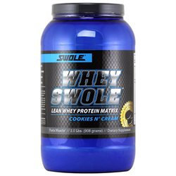 Swole Sports Nutrition - Whey Swole Advance Whey Protein Matrix Cookies And Cream - 2.5 lbs.