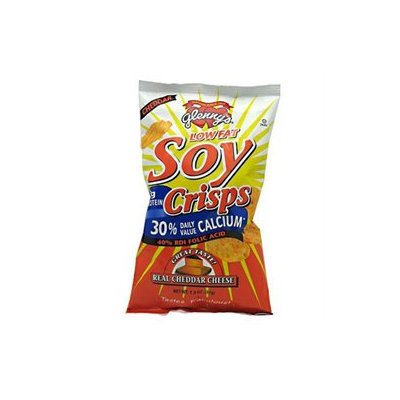 Glenny's Low Fat Soy Crisps, Cheddar, 1.3 oz, 24 ct