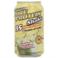 WorldWide WWSDSHAK0012VANILQ Pure Protein Shake Vanilla 12 ct 11 oz