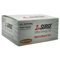 Accelerade 2nd Surge Ultra Energy Gel - Box of 8 (Double Espresso w/Caffeine)