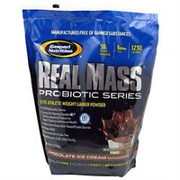 Gaspari Nutrition Real Mass Probiotic Series - Chocolate Ice Cream