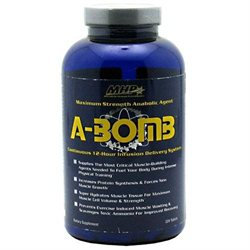 Maximum Human Performance, Inc. MHP A-Bomb, Maximum Strength Anabolic Agent, 224 Tablets, Maximum Human Performance