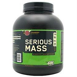 Optimum Nutrition, Inc. Optimum Nutrition - Serious Mass Strawberry - 6 lbs.