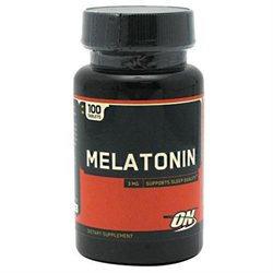 Optimum Nutrition Melatonin - 3 mg - 100 Tablets