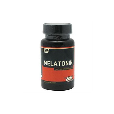 Optimum Nutrition Melatonin - 3 mg - 100 Tablets