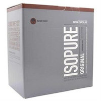 tures Best Nature's Best Isopure Original Dutch Chocolate - 20 Packets