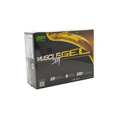 Muscle Pharm MuscleGel Shot - Banana Cream - 12 Servings