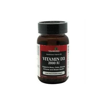 Futurebiotics Vitamin D3 - 2000 IU - 120 Softgels
