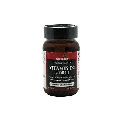Futurebiotics Vitamin D3 - 2000 IU - 120 Softgels