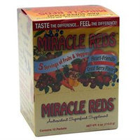 MacroLife Naturals Inc. Miracle Reds - 12 Ounces Packets - Acai / Super Juices