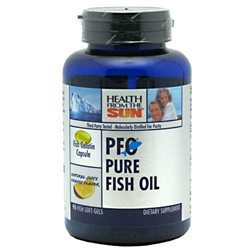 Health From the Sun PFO Pure Fish Oil Natural Juicy Orange - 90 Softgels