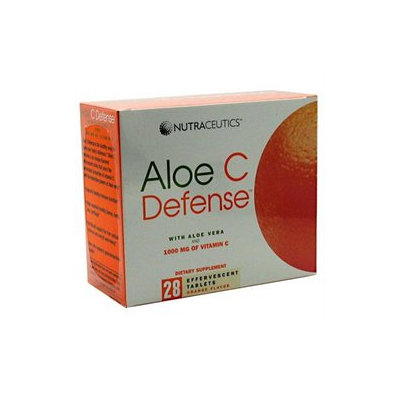 Nutraceutics 2190008 Aloe C Defense Orange 28 Tablets