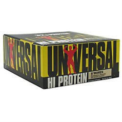 Universal Nutrition Hi Protein Bars - 16 Count SMores