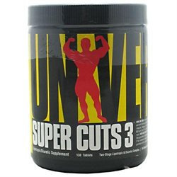 Universal Nutrition Super Cuts 3 - 130 Tablets
