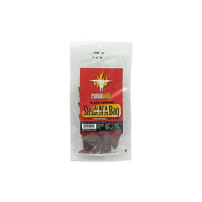 Runnin' Wild Foods Runnin Wild Foods Steak N' A Bag Black Pepper - 3.25 oz