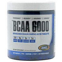 Gaspari Nutrition BCAA 6000 Tablets - 180 Count