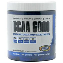 Gaspari Nutrition BCAA 6000 Tablets - 180 Count