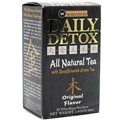 Rooney Cv. Inc Wellements Rooney CV Daily Detox All Natural Decaffeinated Tea Original - 30 Sachet