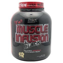 Nutrex Research Muscle Infusion Black Vanilla Beast - 5 lbs