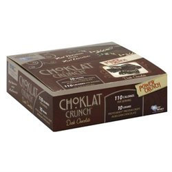 Bio-nutritional Choklat Crunch Bar Dark Chocolate 12 bars