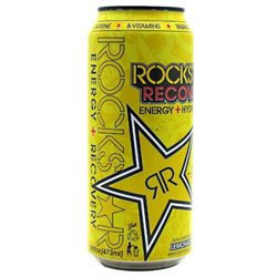 Rockstar Recovery Energy Drink Lemonade