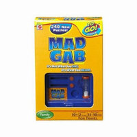 Mattel Mad Gab To Go Ages 10 and up, 1 ea