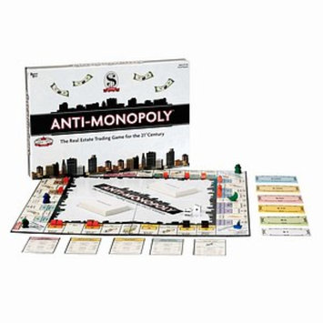Anti Monopoly Board Game Ages 8+, 1 ea