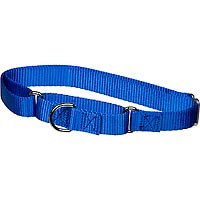 The Grrrip X-tra Control Collars, Large, Color: Blue