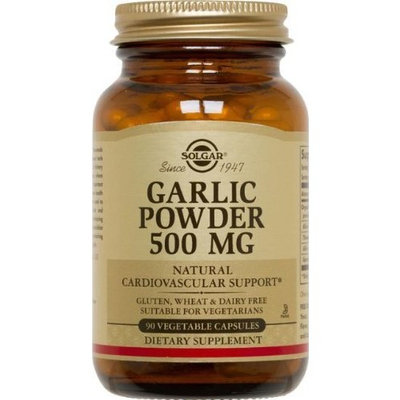 Solgar Garlic Powder 500 mg Vegetable Capsules 90