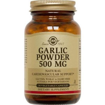 Solgar Garlic Powder 500 mg Vegetable Capsules 90