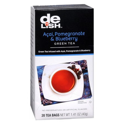 Good & Delish Acai Pomegranate Blueberry Green Tea Bags