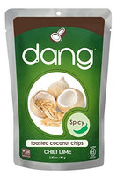Dang CCNUT CHIP, CHILI LIME, (Pack of 12)