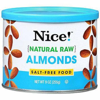Nice! Natural Raw Almonds