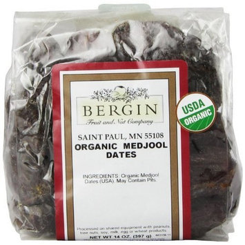 Bergin Fruit And Nut Bergin Nut Company Organic Medjool Dates, 14 Ounce Bag